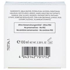 LA MER Feuchtigkeitscreme o.Parfüm 100 Milliliter - Unterseite