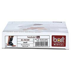BORT TaloStabil Eco Knöchelst.S schwarz 1 Stück - Unterseite