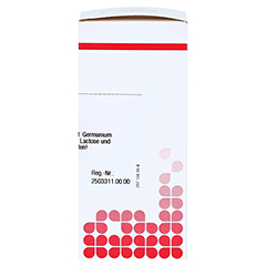 GERMANIUM METALLICUM D 12 Tabletten 80 Stück - Rechte Seite