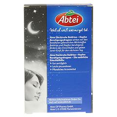 ABTEI Nachtruhe (Baldrian + Hopfen Beruhigungsdragees) 40 Stück - Rückseite