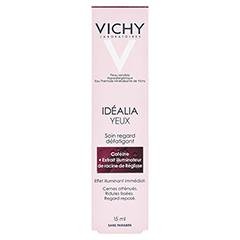 VICHY IDEALIA Augenpflege Creme 15 Milliliter - Rückseite