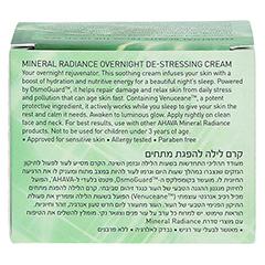 Ahava MINERAL RADIANCE Overnight De-Stress Creme 50 Milliliter - Rückseite