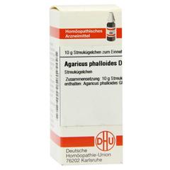 AGARICUS PHALLOIDES D 4 Globuli 10 Gramm N1