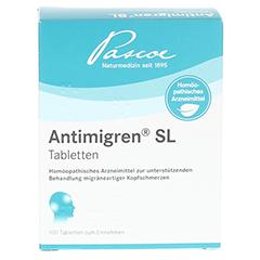 ANTIMIGREN SL Tabletten 100 Stück N1 - Rückseite