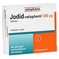 Jodid-ratiopharm 200µg 50 Stück N2