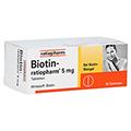 BIOTIN RATIOPHARM 5 mg Tabletten 90 Stück