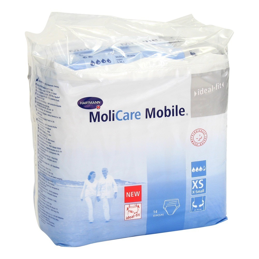 MOLICARE Mobile Inkontinenz Slip extra small 14 Stück