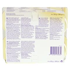 FORTICREME Bananengeschmack 4x125 Gramm - Unterseite