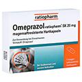 Omeprazol-ratiopharm SK 20mg 7 Stück
