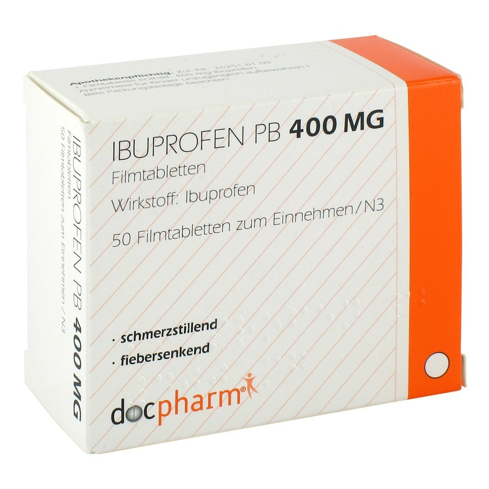 erfahrungen zu ibuprofen pb 400 mg filmtabletten 50 st ck. Black Bedroom Furniture Sets. Home Design Ideas