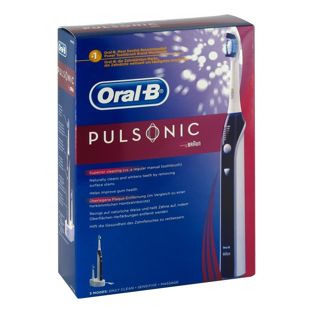 oral b pulsonic zahnb rste 1 st ck online bestellen. Black Bedroom Furniture Sets. Home Design Ideas