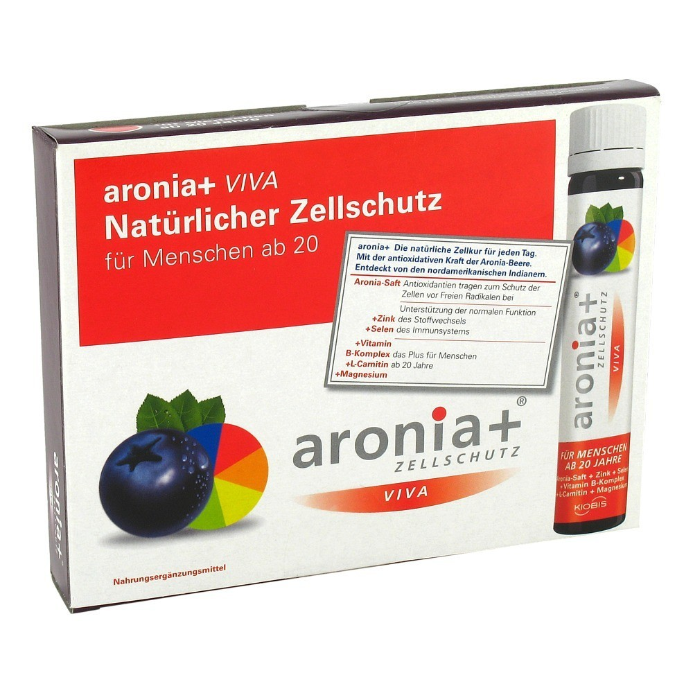 erfahrungen zu aronia viva trinkampullen 7x25 milliliter. Black Bedroom Furniture Sets. Home Design Ideas