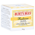 BURT'S BEES Radiance Eye Cream 14 Gramm