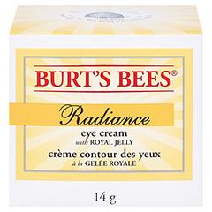 BURT'S BEES Radiance Eye Cream 14 Gramm - Vorderseite