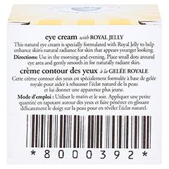 BURT'S BEES Radiance Eye Cream 14 Gramm - Rückseite