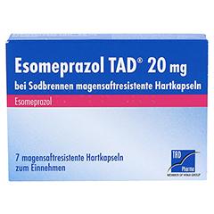 Esomeprazol TAD 20mg bei Sodbrennen 7 Stück