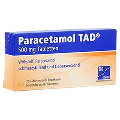 Paracetamol TAD 500mg 20 Stück N2