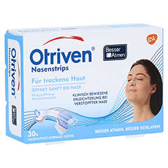 Otriven Nasenstrips normal, transparent 30 Stück