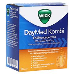 WICK DayMed Kombi Erkältungsgetränk 10 Stück