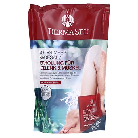 DERMASEL Totes Meer Badesalz+Gelenk&Muskel SPA 1 Packung