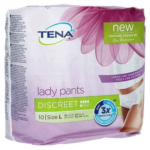 TENA LADY Pants Discreet L 10 Stück
