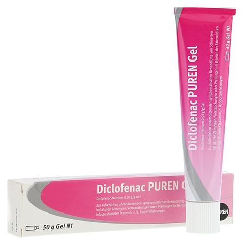 Diclofenac PUREN 50 Gramm N1