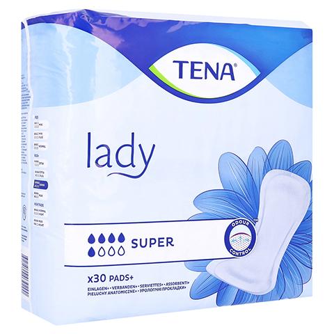 TENA LADY super Einlagen 30 Stück
