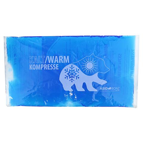 KALT-WARM Kompresse 22x40 cm blau lose 1 Stück
