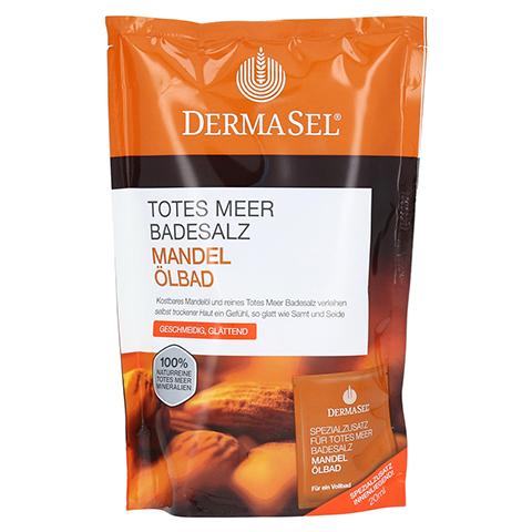 DERMASEL Totes Meer Badesalz+Mandel SPA 1 Packung
