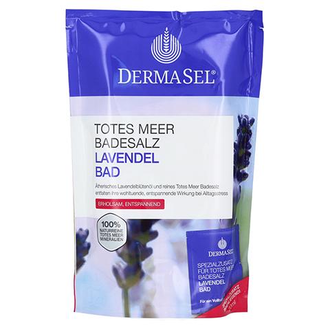 DERMASEL Totes Meer Badesalz+Lavendel SPA 1 Packung