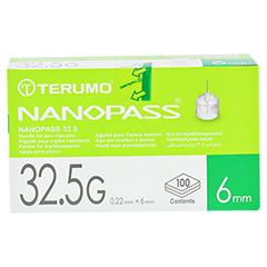 TERUMO NANOPASS 32,5 Pen Kanüle 0,22x6 mm 100 Stück - Vorderseite