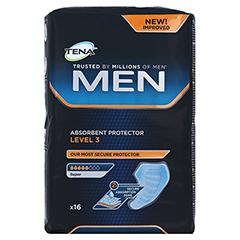 TENA MEN Level 3 Einlagen 16 Stück - Vorderseite