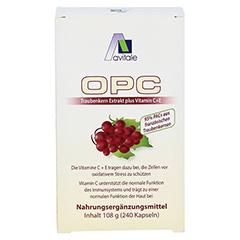 Avitale OPC Traubenkern Extrakt 240 Stück - Vorderseite