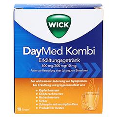 WICK DayMed Kombi Erkältungsgetränk 10 Stück - Vorderseite