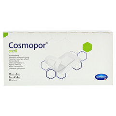 COSMOPOR steril 6x15 cm 25 Stück - Vorderseite