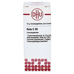 RUTA C 30 Globuli 10 Gramm N1 - Vorderseite
