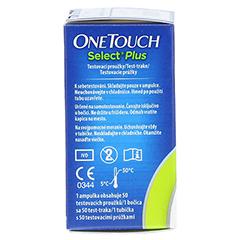 ONE TOUCH Select Plus Blutzucker Teststreifen 50 Stück - Linke Seite