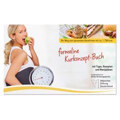 FORMOLINE Kurkonzept-Buch Tipps+Rezep.+Menüpläne 1 Stück