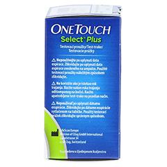 ONE TOUCH Select Plus Blutzucker Teststreifen 50 Stück - Rechte Seite
