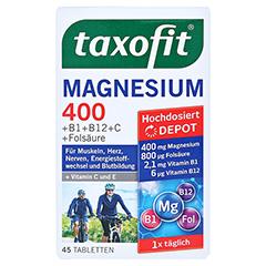 Taxofit Magnesium 400 Tabletten 45 Stück - Vorderseite