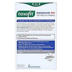 Taxofit Magnesium 400 Tabletten 45 Stück - Rückseite