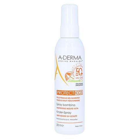 A-DERMA Protect Kids Sonnenschutz Spray LSF 50+ 200 Milliliter