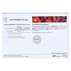 Q10 MONO 30 mg Weichkapseln 4x60 Stück - Rückseite
