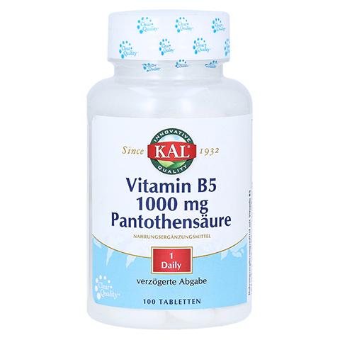 VITAMIN B5 1000 mg Pantothensäure Tabletten 100 Stück