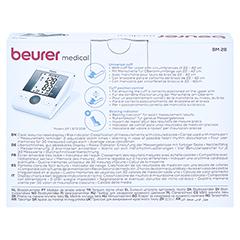 BEURER BM28 HSD Oberarm-Blutdruckmessgerät 1 Stück - Rückseite