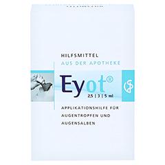 EYOT Tropfhilfe f.Augentropfen/-salben 1 Stück - Rückseite