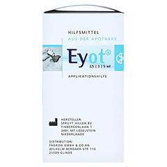 EYOT Tropfhilfe f.Augentropfen/-salben 1 Stück - Linke Seite