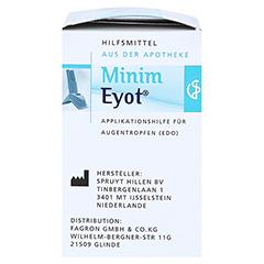 MINIM EYOT Tropfhilfe f.Augentropfen in ED 1 Stück - Linke Seite