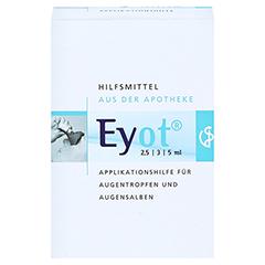 EYOT Tropfhilfe f.Augentropfen/-salben 1 Stück - Vorderseite