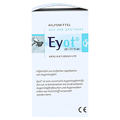 EYOT Tropfhilfe f.Augentropfen/-salben 1 Stück - Rechte Seite
